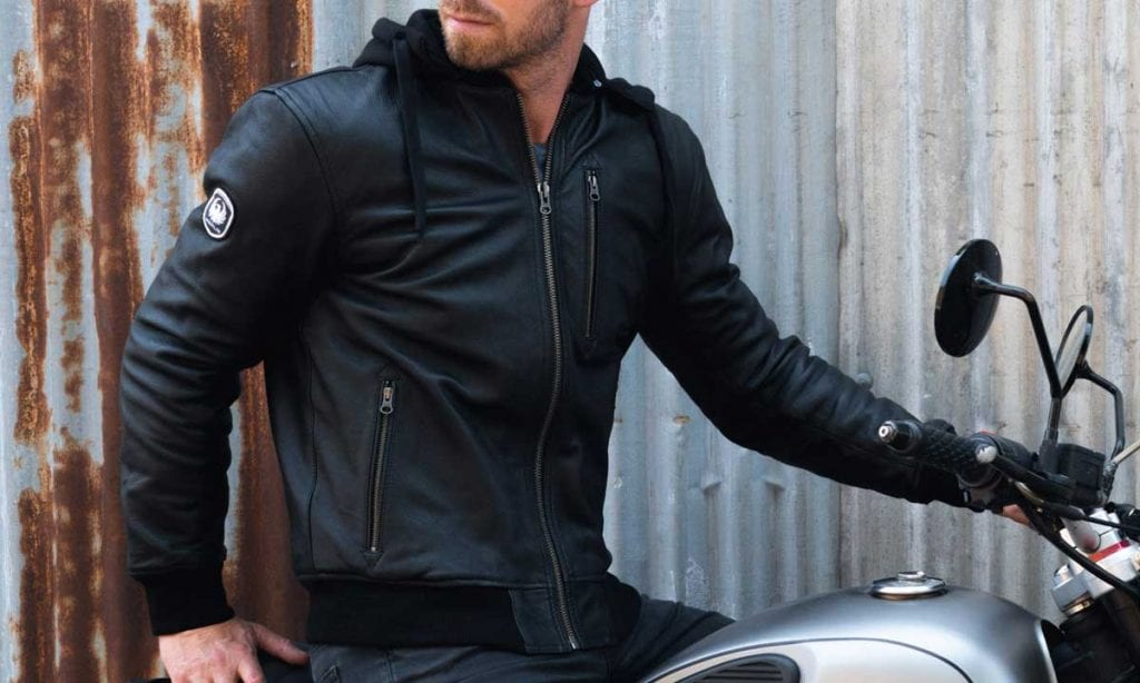 Return of the Cafe Racers - Merlin Trance Leather Jacket
