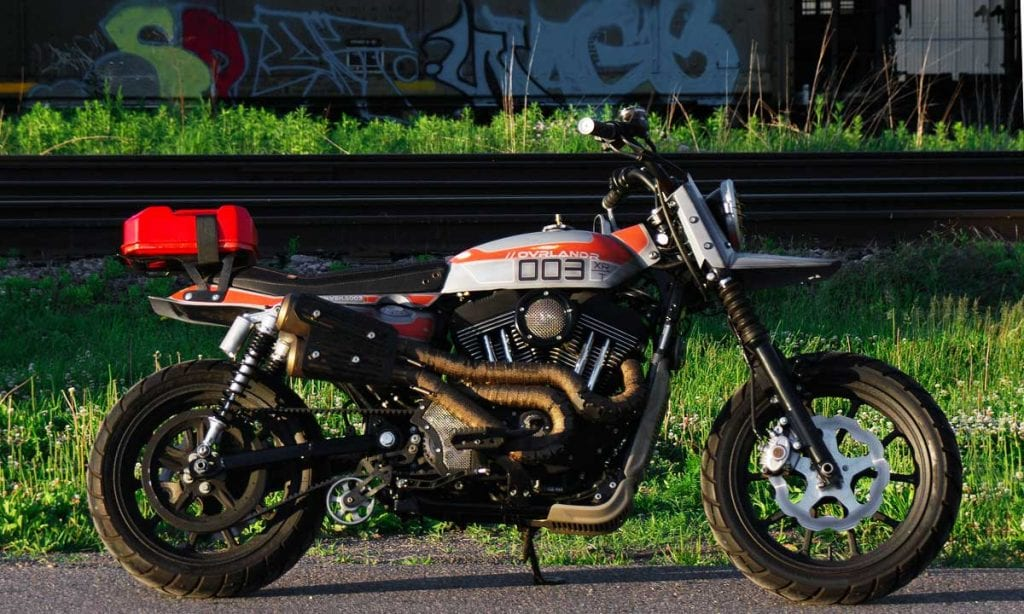 Return of the Cafe Racers - Ovrlandr – Combustion Industries XL1200R