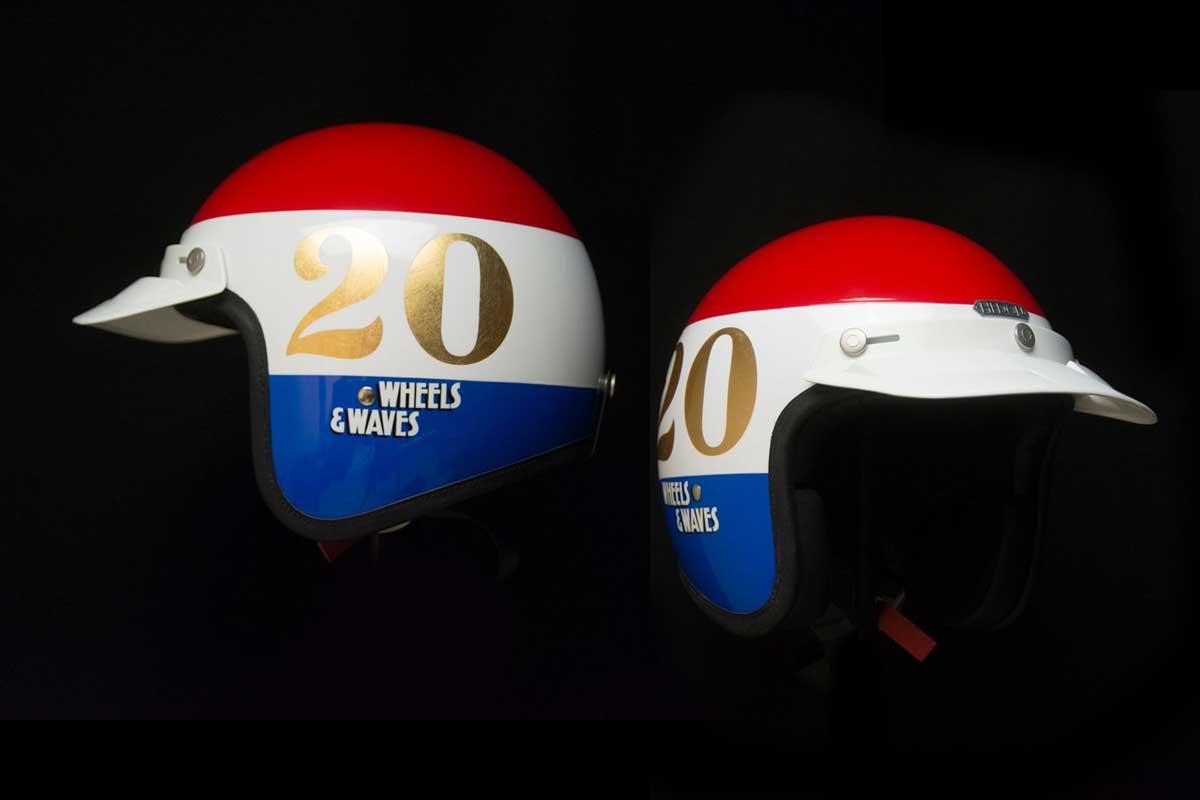 Hedon Wheels and Waves helmet