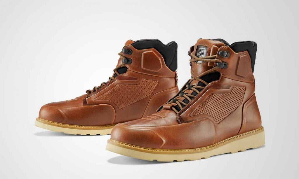 Return of the Cafe Racers - Icon 1000 Brigand Boots