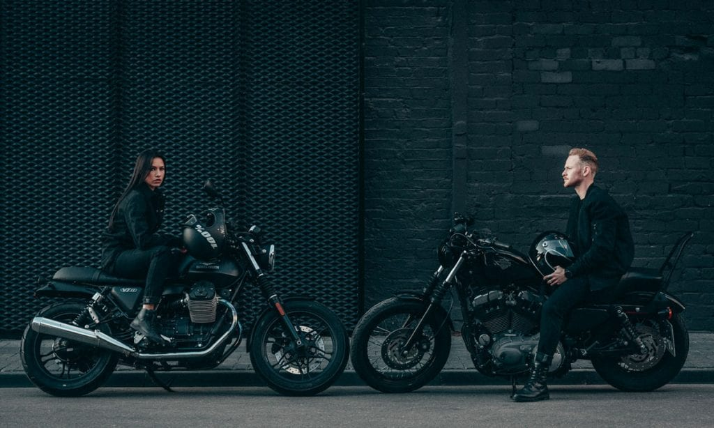 Return of the Cafe Racers - Pando Moto Black Dyneema Jeans