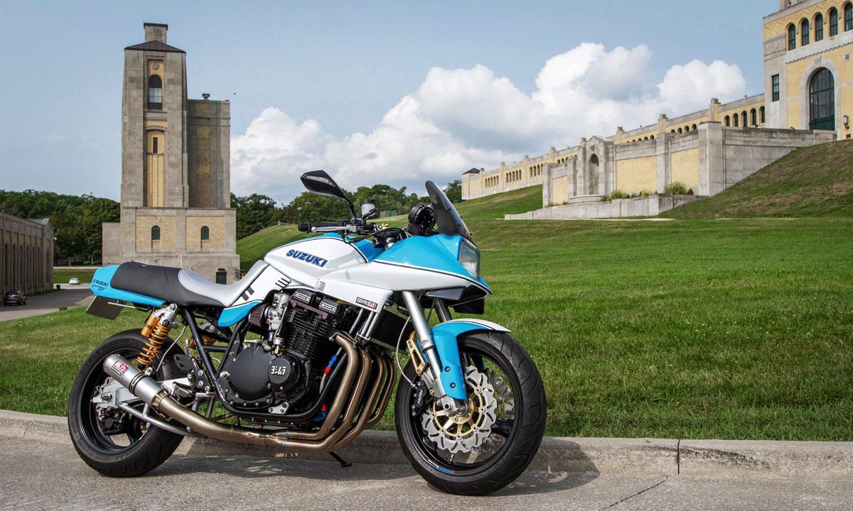 Return of the Cafe Racers - Pro Street 1135R – VSB Moto Suzuki Katana