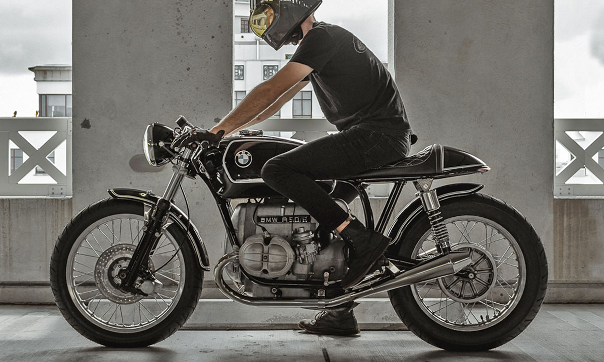 Return of the Cafe Racers - Splendid Six – Jesse Scott Baumann BMW R90/6