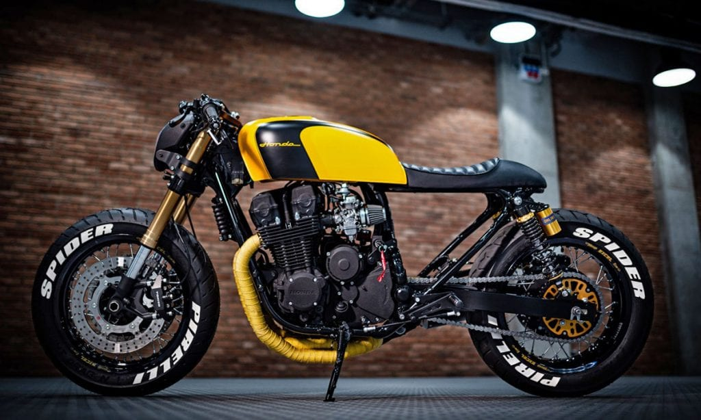 Return of the Cafe Racers - The Spider – KrisBiker Honda CB750 F2