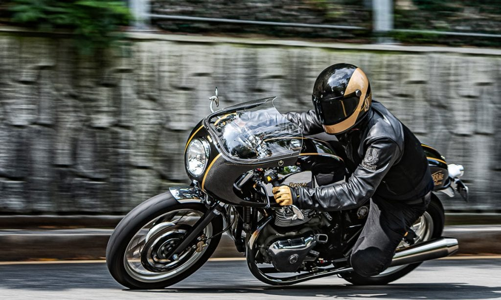 Return of the Cafe Racers - Korean Cafe – Motorbike Magazine GT 650
