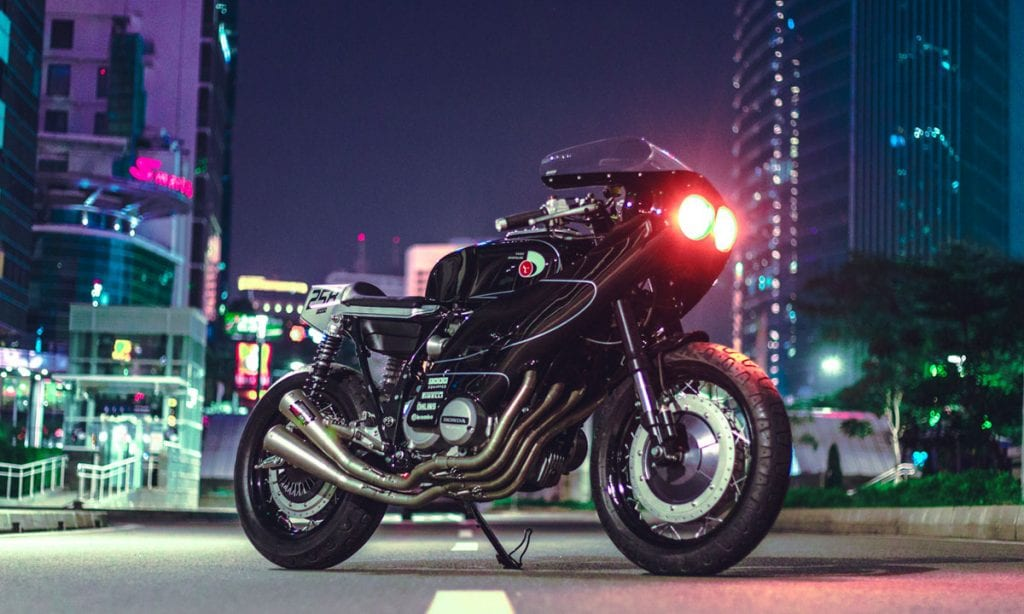 Return of the Cafe Racers - Portia – Thrive Motorcycles Honda CB650