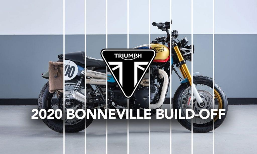 Return of the Cafe Racers - 2020 Triumph Bonneville Build-Off