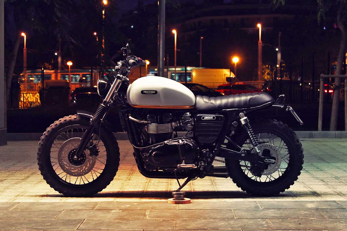 Absolut Bonneville Scrambler