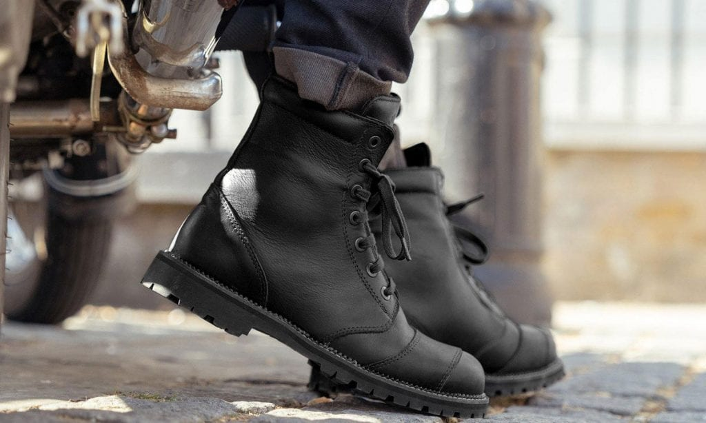 Return of the Cafe Racers - Belstaff Resolve Motorcycle Boots