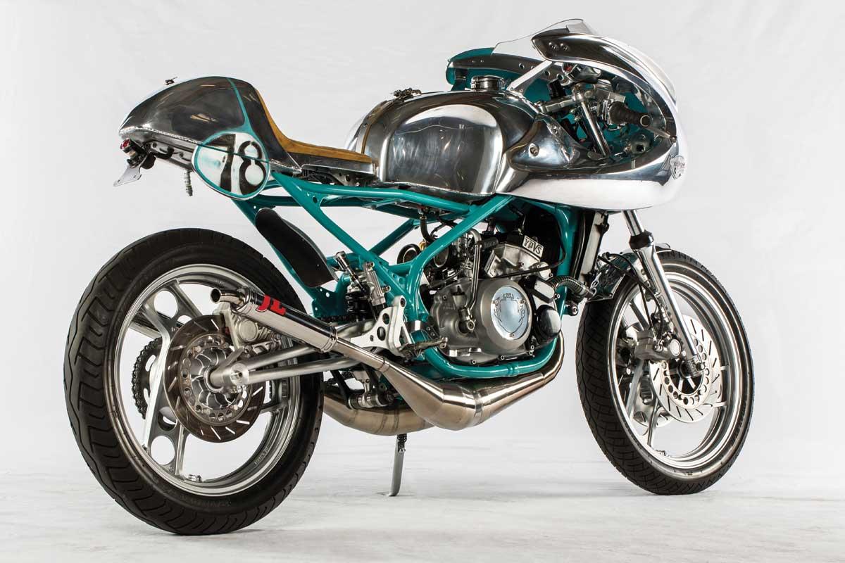 Yamaha RD350 cafe racer