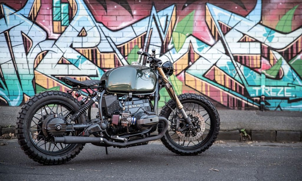 Return of the Cafe Racers - Ready for Action – Hellraiser R100 Scrambler