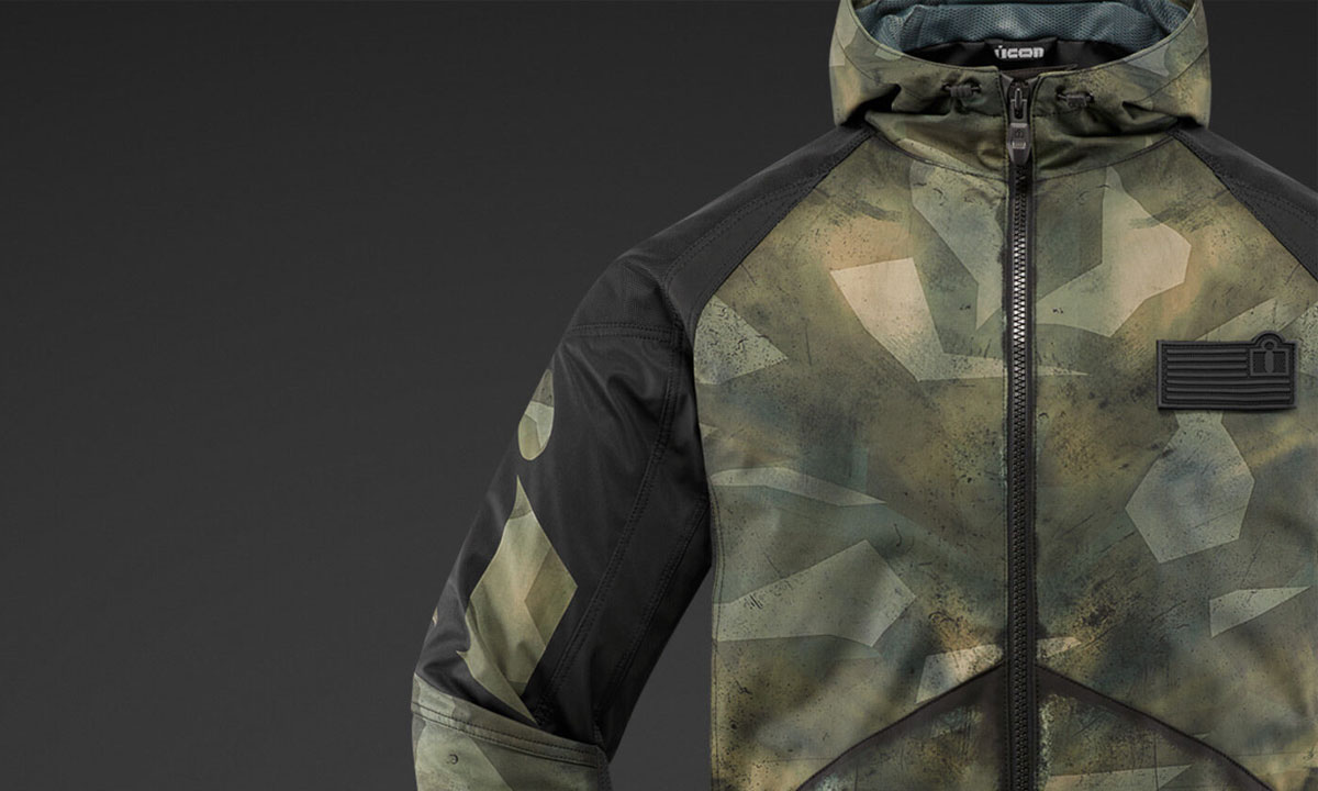 Return of the Cafe Racers - Icon Merc Battlescar Jacket