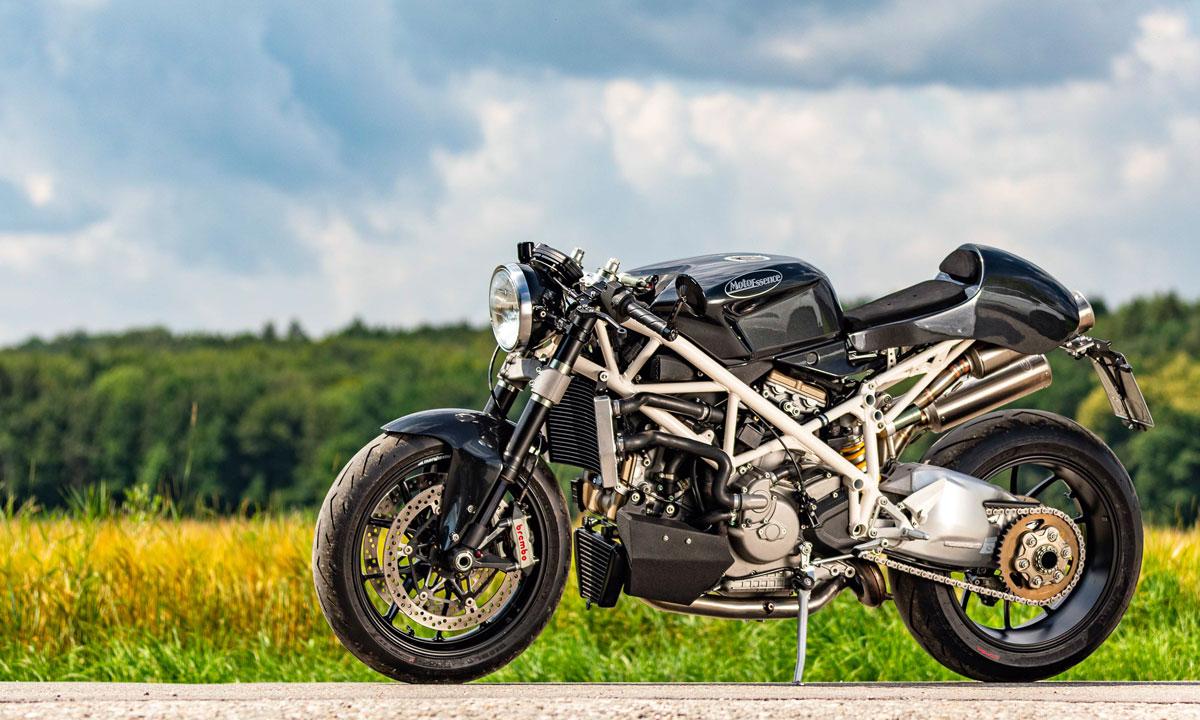 Ducati 1098 cafe racer
