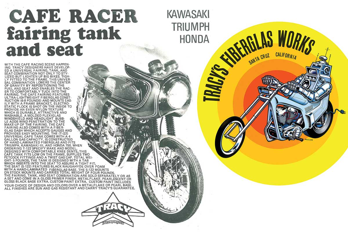 Tracy cafe racer