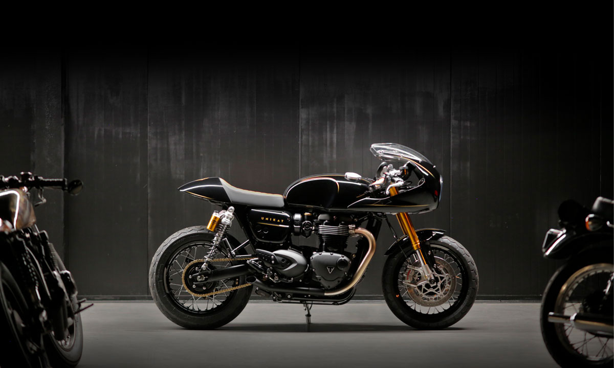 Return of the Cafe Racers - Power of Three – Unikat Thruxton RS