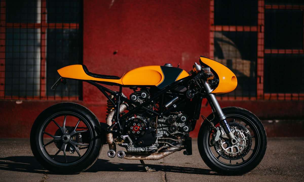Return of the Cafe Racers - Serpent Slayer – Perseus Ducati 749