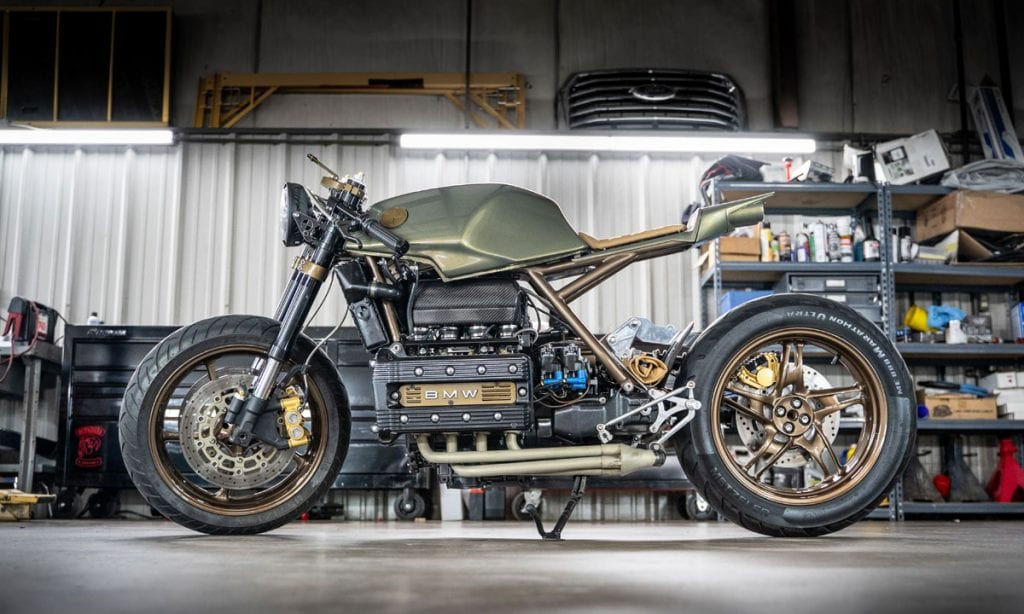 Return of the Cafe Racers - KBike Crazy – Ron Dey's BMW K100RS