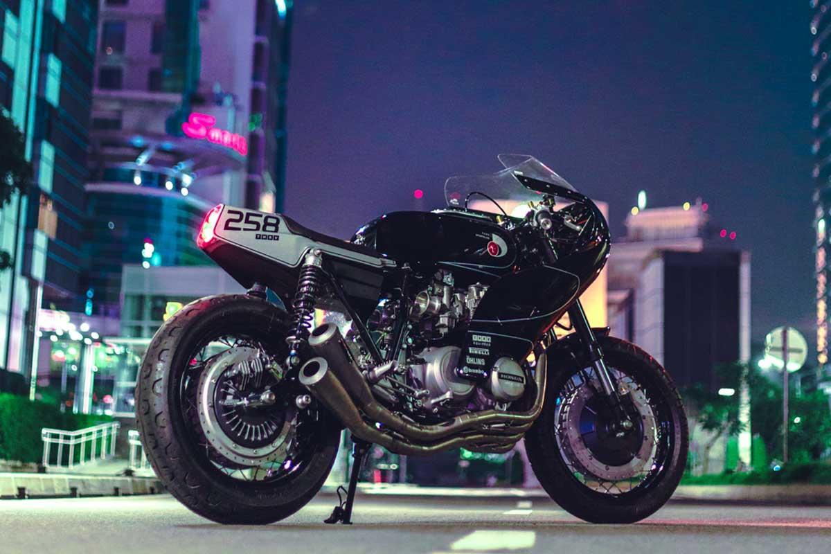 Honda CB650 cafe racer