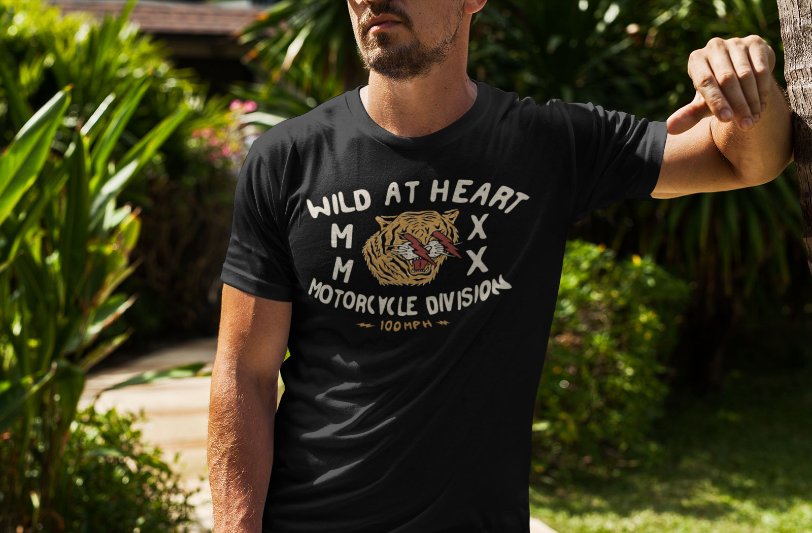 100mph Wild At Heart t-shirt