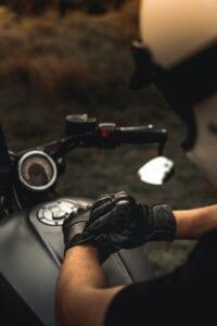 Liberta Cobra black Motorcycle Gloves