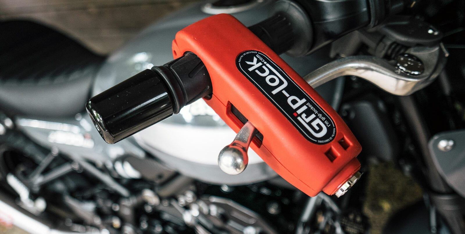 Grip-Lock motorcycle throttle lock