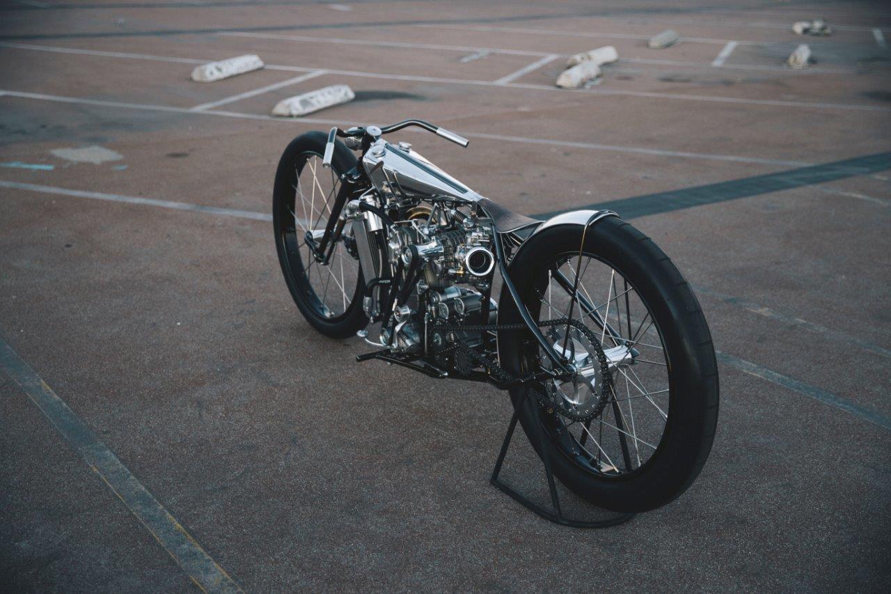 Max Hazan's custom KTM motorcycle