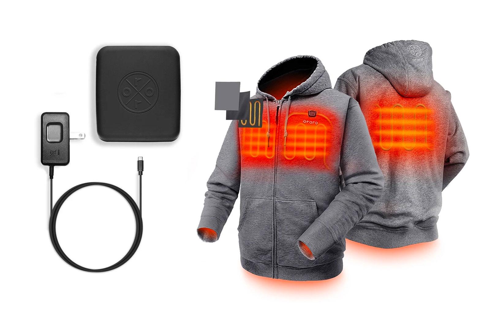 Ororo heated fleece hoodie